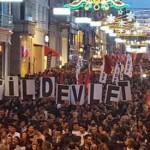 UIKI: Condanniamo l'attacco alla Marcia per la Pace di Ankara!