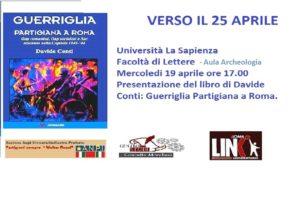 Verso il 25 Aprile Anniversario della Liberazione dell'Italia dal Nazifascismo