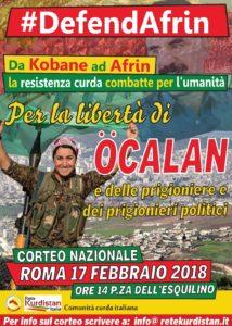 17 Febbraio Manifestazione Nazionale a Roma h 14.00 Piazza dell'Esquilino