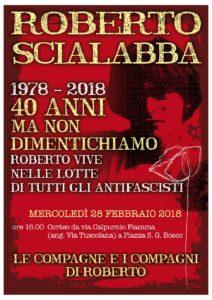 Roberto Scialabba 1978 – 2018