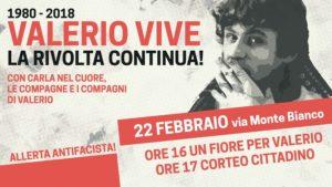Contro ogni fascismo, con Valerio Verbano nel cuore: corteo